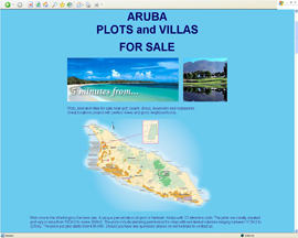 Aruba villa plots sale